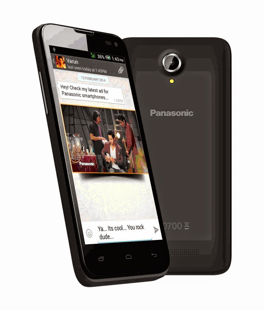 PayTM : Buy Panasonic T41 Android Phone at Rs.5427 only