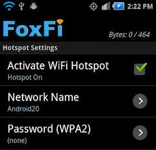 FoxFi Android Application
