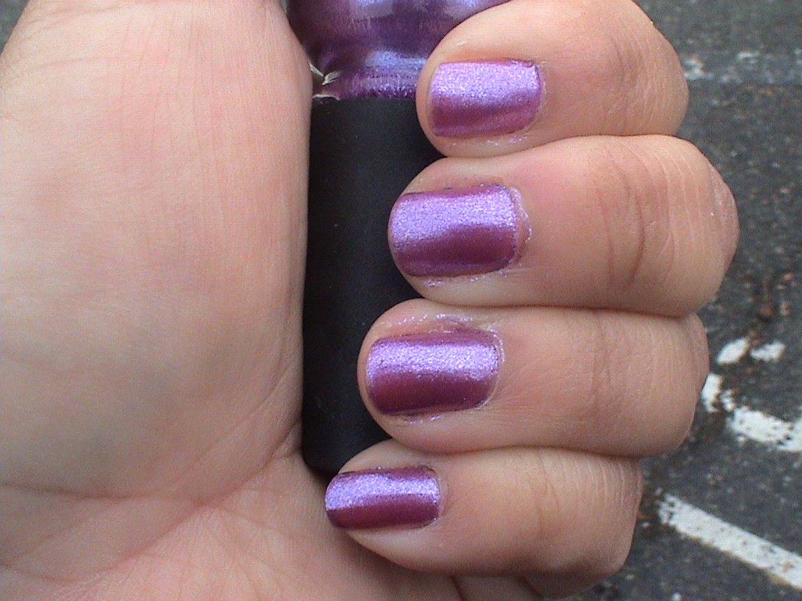 Impoverished by Polish: China Glaze Anklets of Amethysts-A Pinky ...