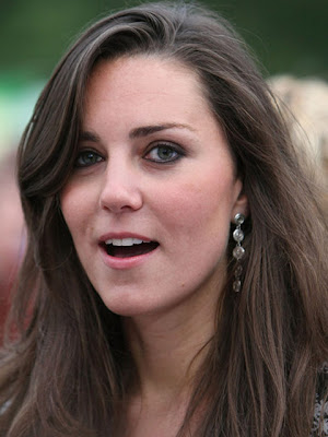 Kate Middleton Sterling Dangle Earrings
