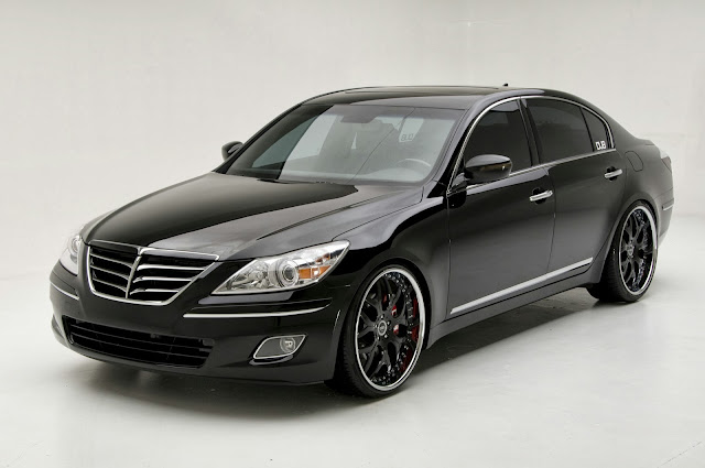 Hyundai Genesis Sedan Car Wallpaper