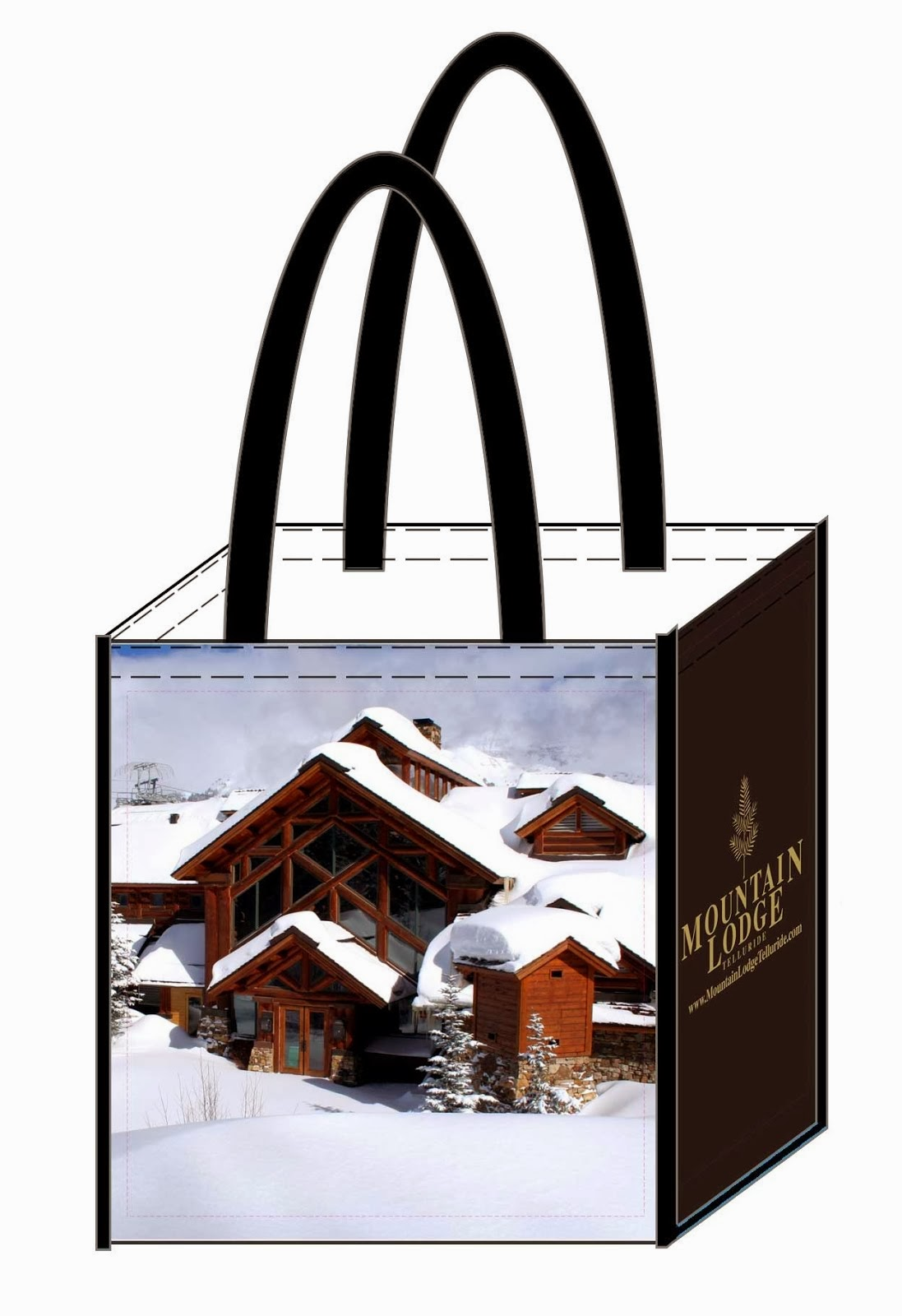 Mountain Lodge Telluride: Eco-Friendly Reusable Bag