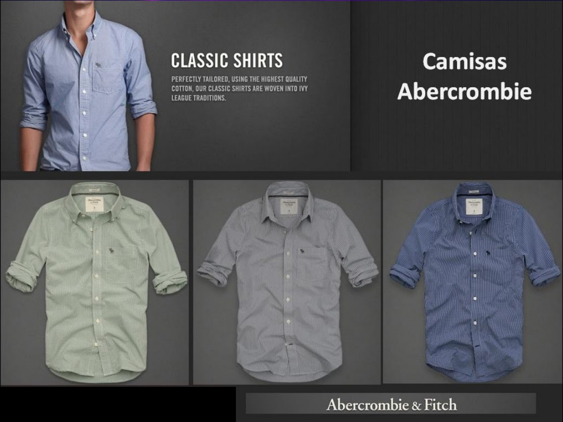 dd32543ce4 Camisa social Abercrombie