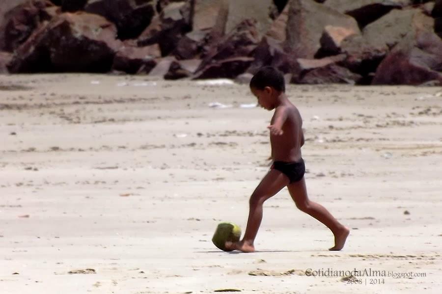 No Brasil todo coco é bola