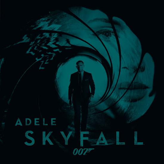 Capa do álbum Adele – Skyfall (007 Single) (2012)