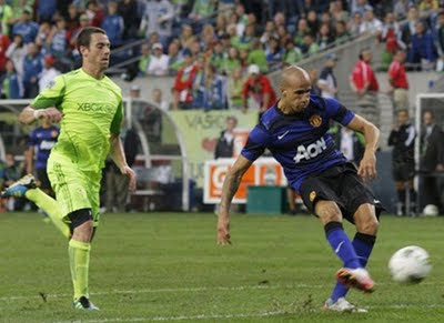 Seattle Sounders vs Manchester United Tour USA 2011