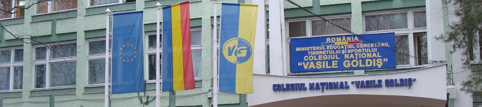"Colegiul Naţional ""Vasile Goldiş"" Arad"
