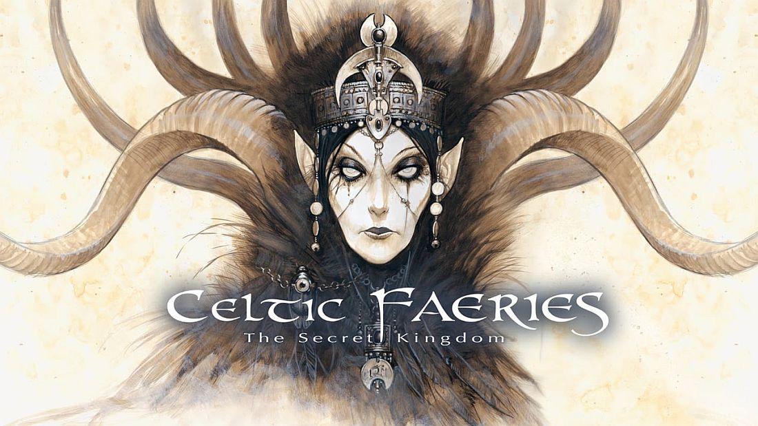 Celtic Faeries w hafcie