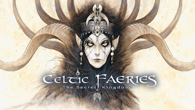 Celtic Faeries w hafcie