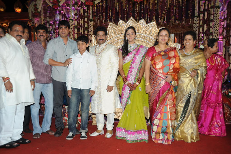 Celebrities  Jr NTR  Pranathi s Marriage event pictures