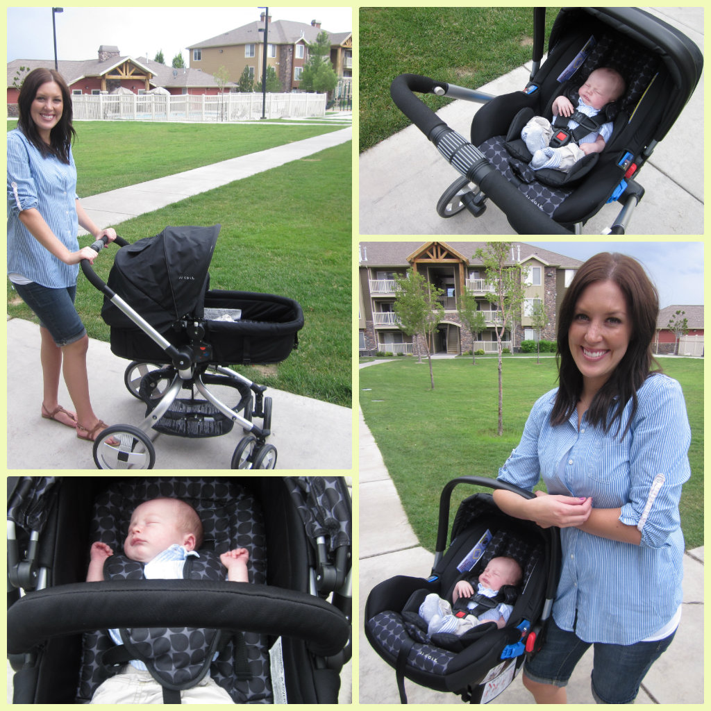 Jj Cole Newport Car Seat And Broadway Stroller Giveaway