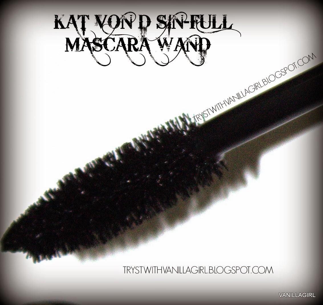 KAT VON D SIN-FULL LASH MASCARA review