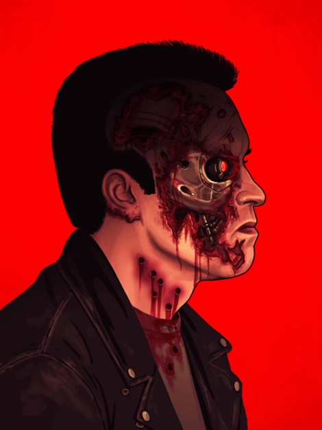 Ther Terminator by Mike Mitchell