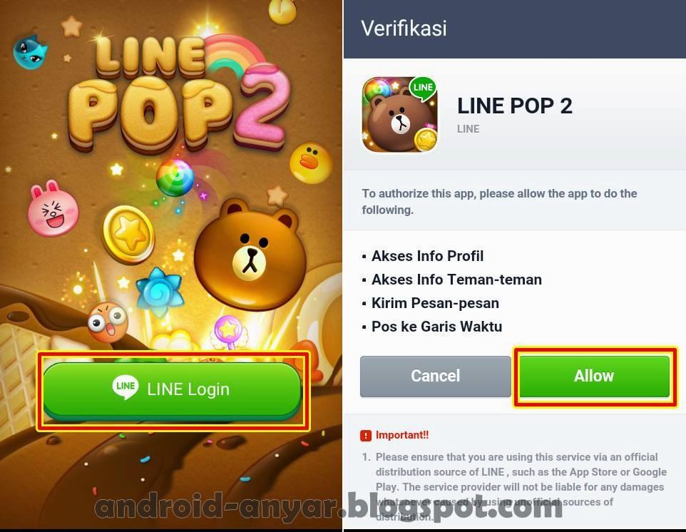 Download Game LINE POP 2 .APK: Gratis 100 Ruby & Heart
