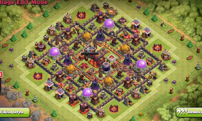 TH9 Base Farming Design 2016