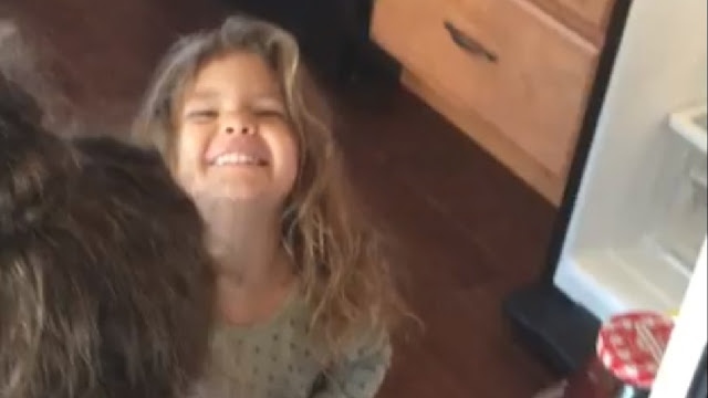 A US army man has posted an adorable video of his three-year-old daughter discovering the meaning of the phrase  -  crying with happiness.  Nicholas Paugam was transferred from Fort Lewis to Lancaster, Pennsylvania, which was 2,800 km away. While the professional packers tucked everything into boxes, Paugam's three-year-old daughter Mckenzy's stuffed toy giraffe went missing.