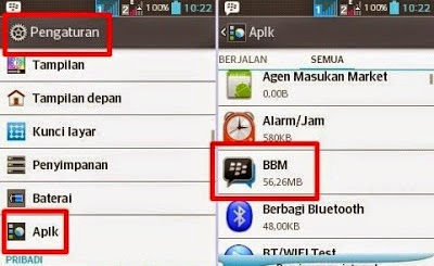 Pengaturan Android