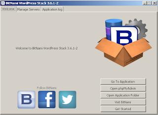 BitNami WordPress Stack