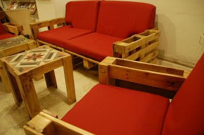 xavicuevas - 50 Ideas de muebles para tu hogar hechas con Pallet ...: xavicuevas.tumblr.com/post/67988434417/50-ideas-de-muebles-para-tu...