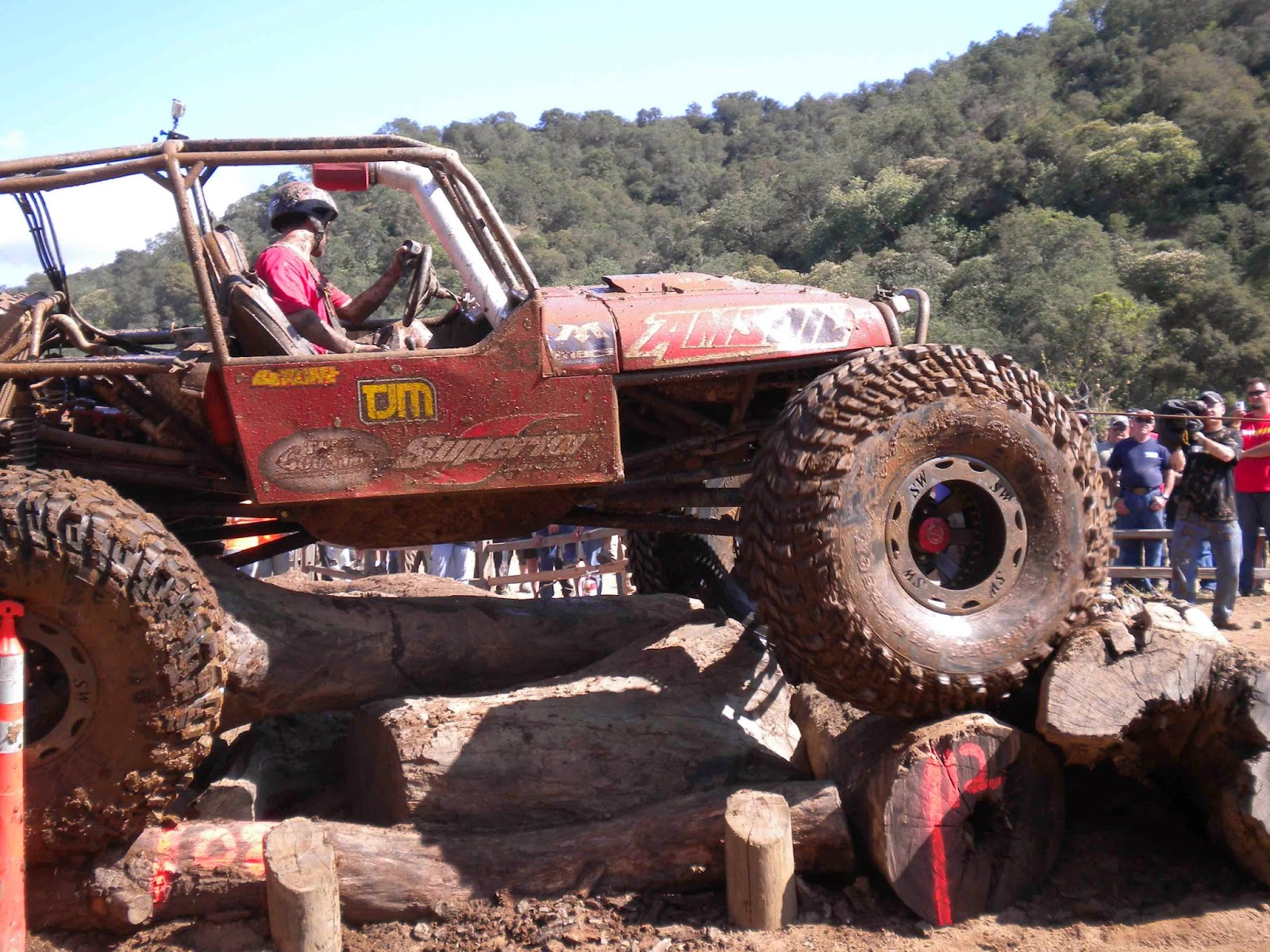 The four wheeler top truck challenge has to be one of the toughest challenges a truck can experience and the most fun a driver can have this side of