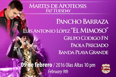 Carnaval Mazatlán 2016 9 de febrero