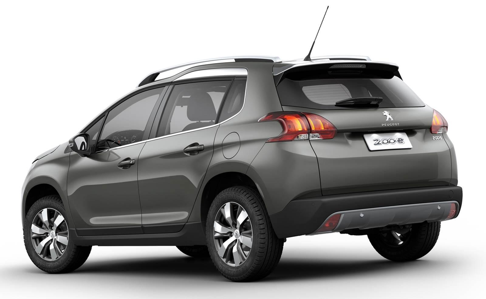 Novo Peugeot 2008 Griffe 1.6 Automático