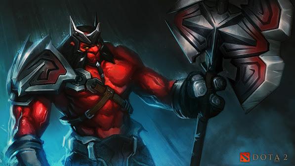 axe mogul khan red the conqueror set hero