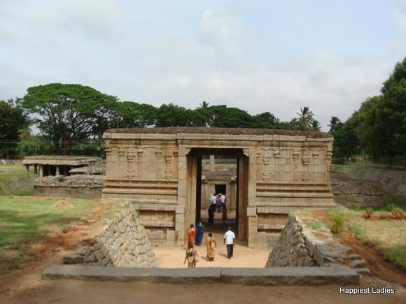 Underground Siva Temple Hampi