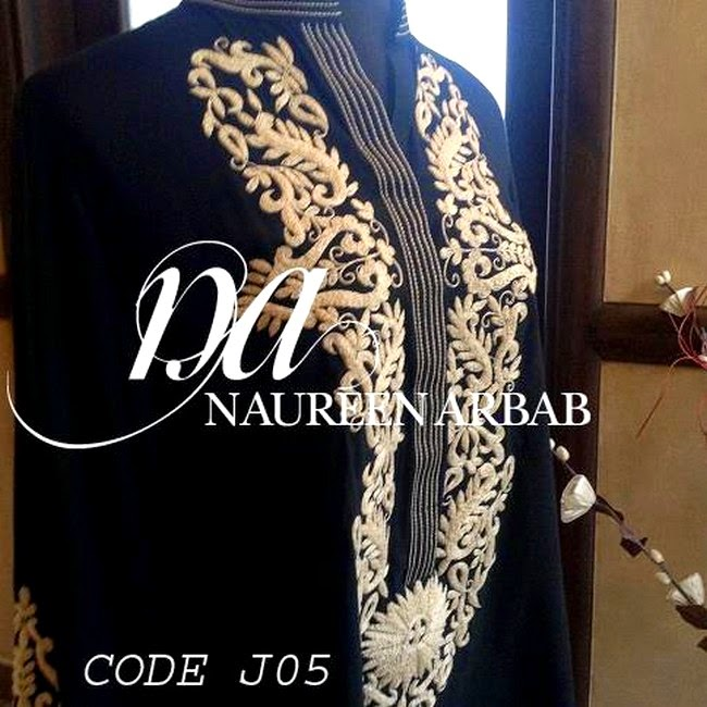 Naureen Arbab Clothing- Royal Embroidered Designer Suit Collection