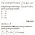 Prediksi Ujian Nasional Matematika SMP Tahun 2016