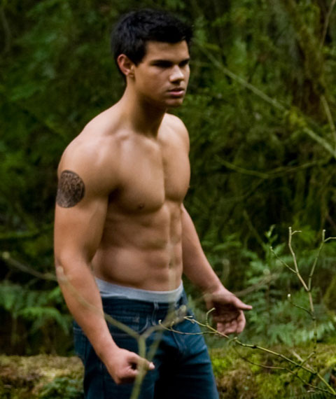 onfolip taylor lautner muscles and abs