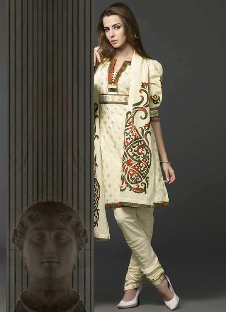 Stylish Pakistani Churidar Pyjamas Designs