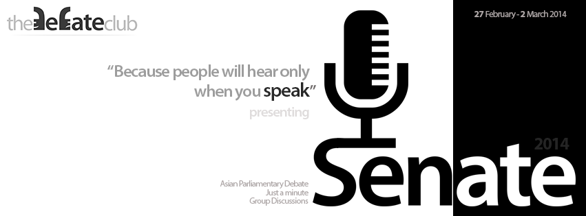 SENATE Parliamentary Debate