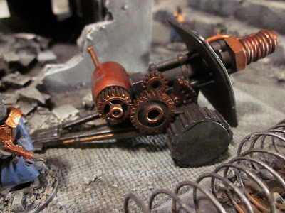 Steampunk Artillery for In Her Majesty's Name