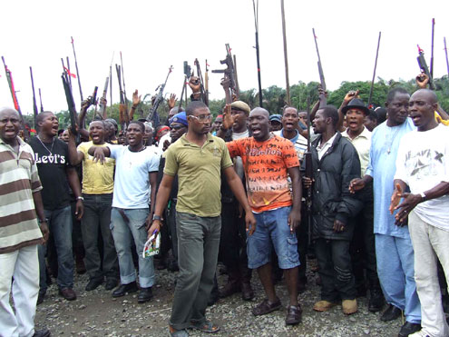 Image result for Ex-militants participate in amnesty programme