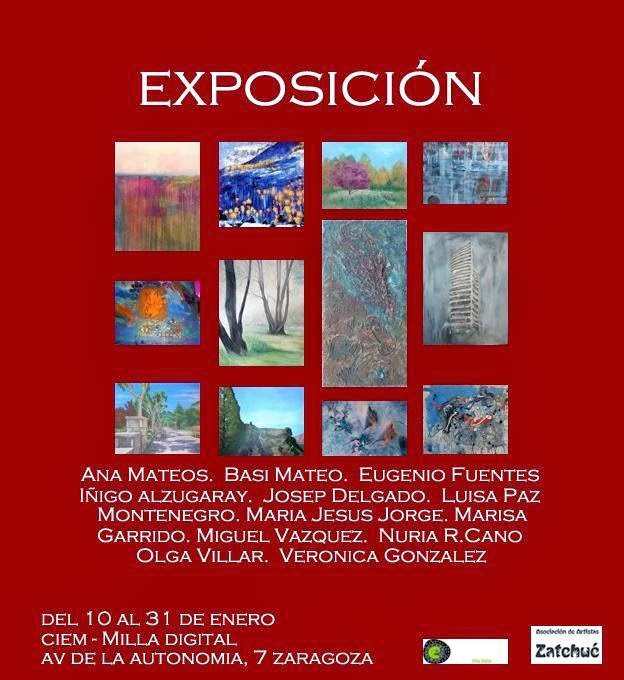 EXPOSICIÓ ZARAGOSSA - CIEM / GENER 2014