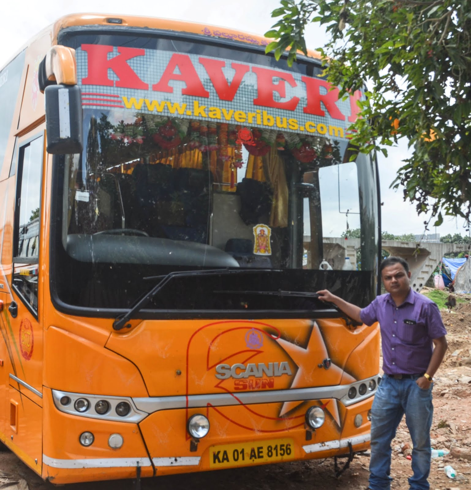 KAVERI SCANIA METROLINK SEMI SLEEPER