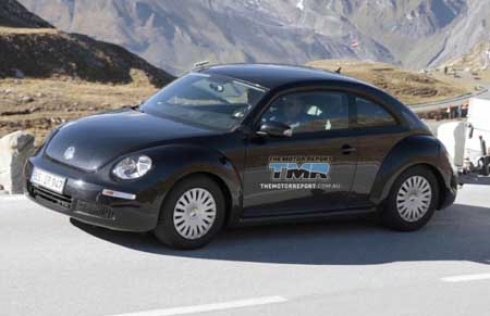 2012 new beetle interior. New VW Beetle 2012 will be
