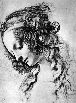 Maria Magdalena, tegning av Leonardo da Vinci