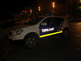 Sant carles de la Rápita police car Photos - Tarragona - Spain