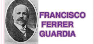 El dilluns 15 d'octubre,  ofrena floral  davant el monument dedicat a Francesc Ferrer i Guàrdia
