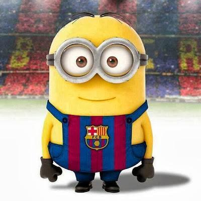 Minion del Barcelona - Barça