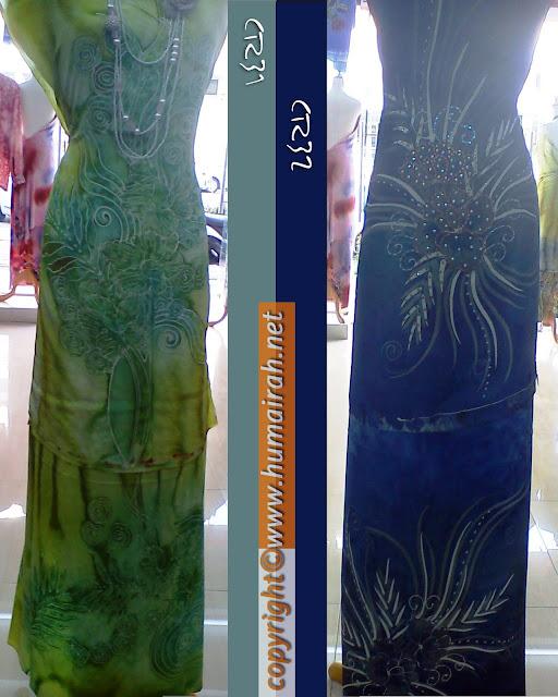 Batik Sutera Crepe Lalang Terengganu 2012