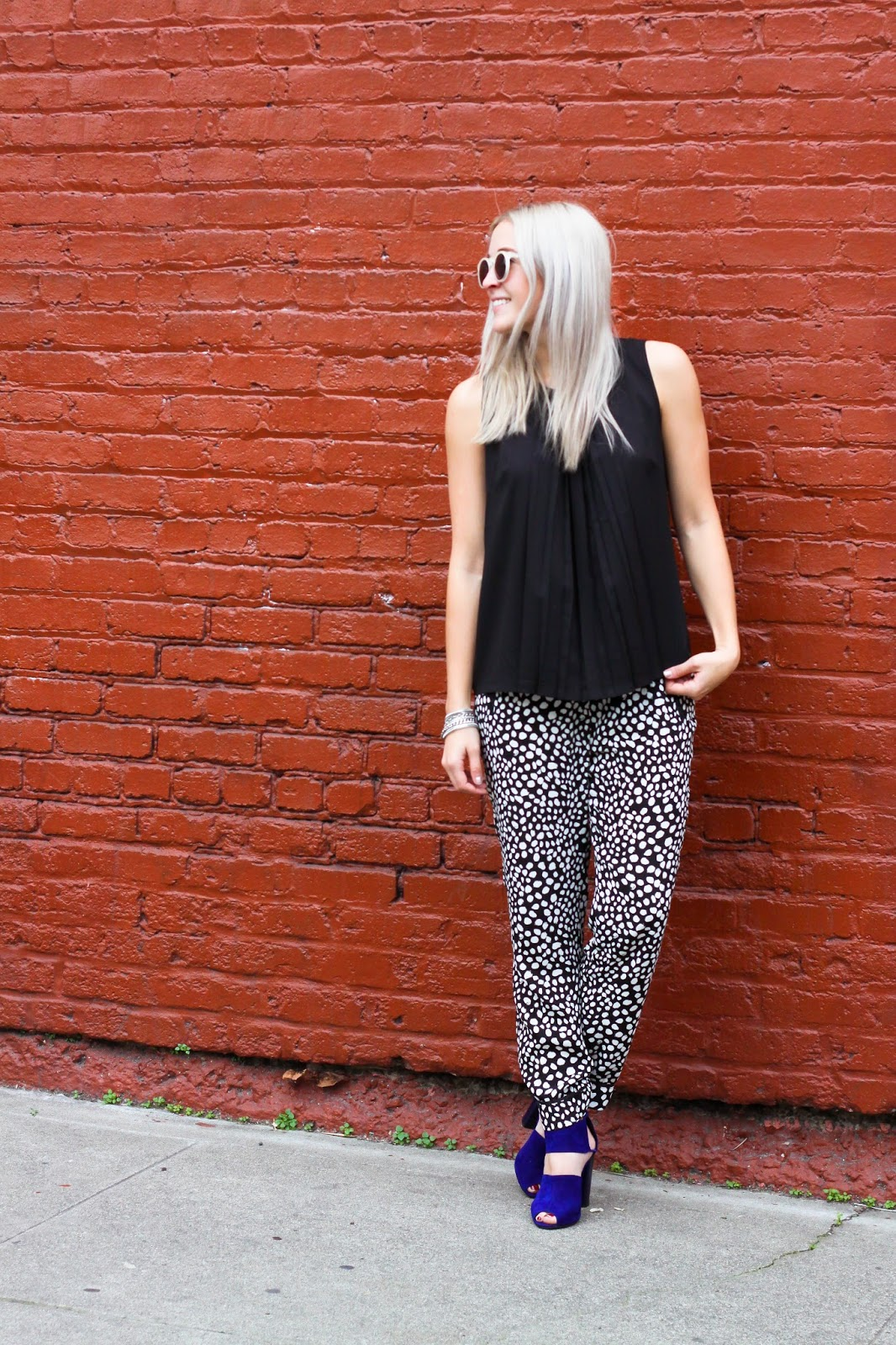 SF Blogger Stone Fox Style shows you how to wear patterned pajama trousers