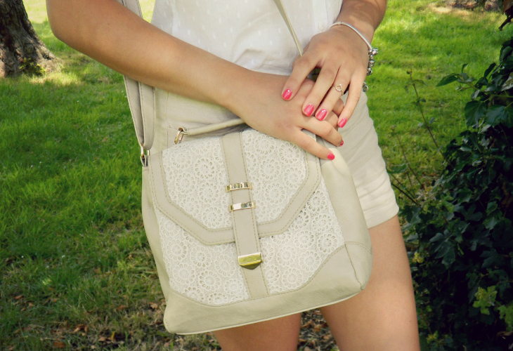 Love From Lisa Fashion - Stone Crochet Bag