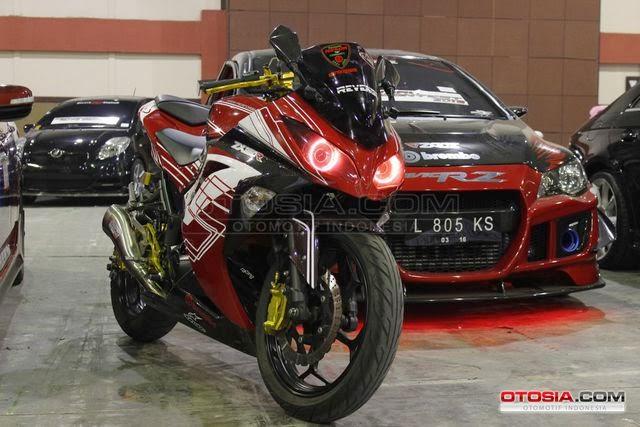 Foto Model Modifikasi Kawasaki Ninja 250 Paling Keren 2014