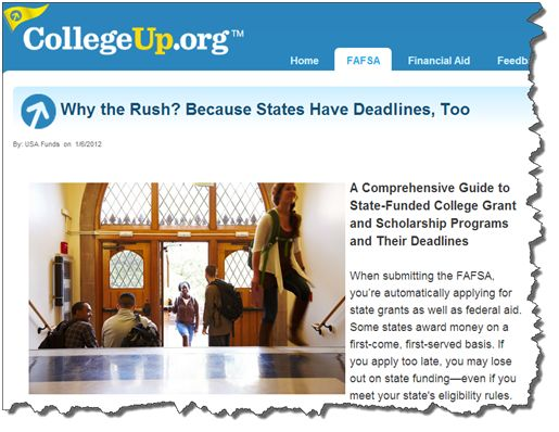 What is the Free Application for Federal Student Aid (FAFSA)?