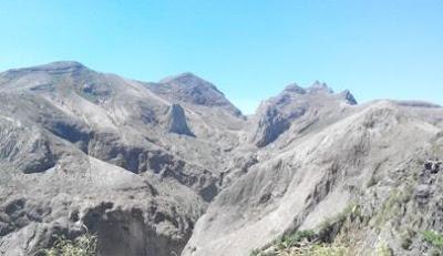 kondisi gunung kelud setelah meletus