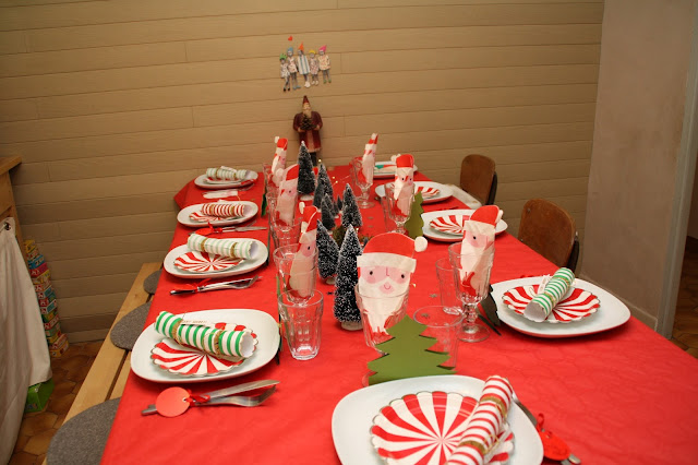 idee decoration table noel