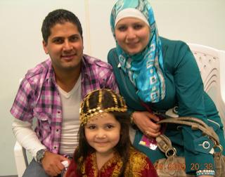 صور رائعة لعمر الصعيدي وزوجتة ابنته ليين جديد